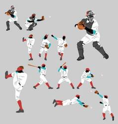Baseball pitch vector