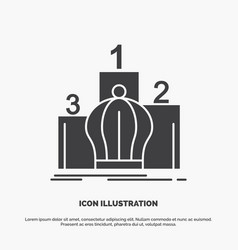 Crown king leadership monarchy royal icon glyph vector