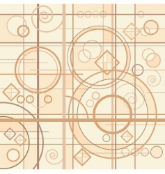 department pattern background vector image