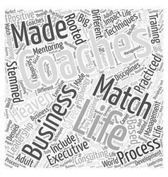 Life Coaching And Business A Match Made In Heaven vector