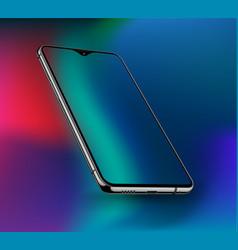 Realistic smartphone mockups vector