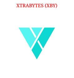 Xtrabytes xby logo vector