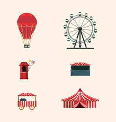 Carnival circus design vector