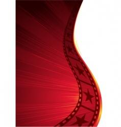 hot film vector image