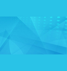 Abstract blue geometric with futuristic background vector