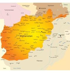 Afganistan vector image