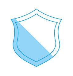 badge security emblem vector image