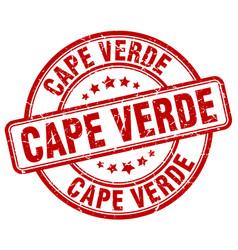 Cape verde stamp vector