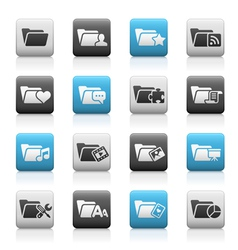 Folder Icons 2 Matte Series vector