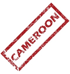 New Cameroon rubber stamp vector