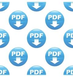 Pdf download sign pattern vector image