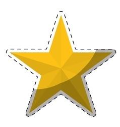 star cartoon icon image vector image