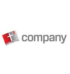 bible logo vector image