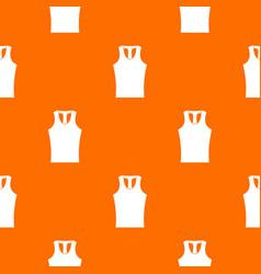 Sleeveless shirt pattern seamless vector