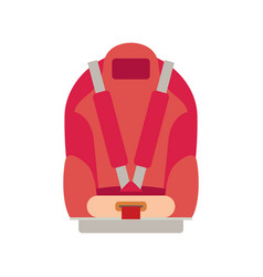 car seat child safety isolated vector image