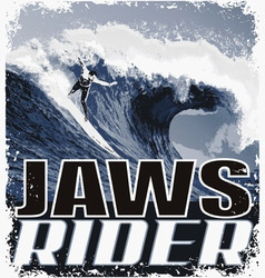 JAW Riders vector image