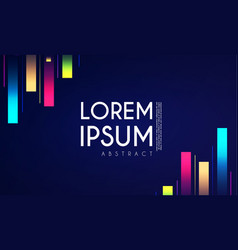 abstract minimal background color motion design vector image