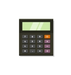 Calculator icon isolated on white vector image