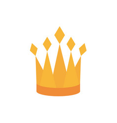 Crown monarch royal jewelry coronation and power vector