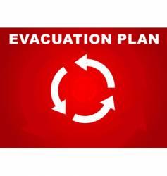 Evacuation plan vector