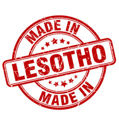 Made in lesotho vector