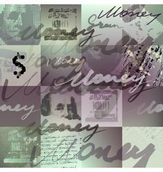 Money pattern vector
