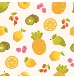 Sweet summer seamless background in vector image
