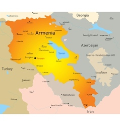 Armenia vector image vector image