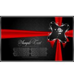 diamond greeting card vector image