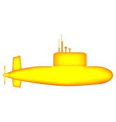 Yellow Submarine vector image