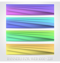 Banners for web collection16 vector image