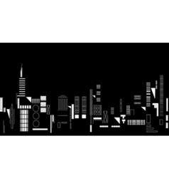 city night vector image vector image