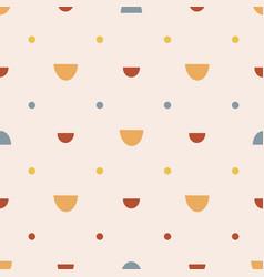 bohemianl hand drawn seamless pattern vector image