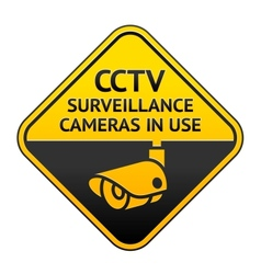 Cctv video surveillance vector