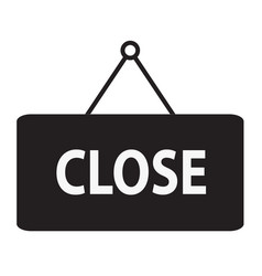 Close icon close sign vector