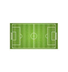 Football field and soccer vector