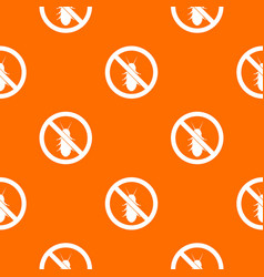 No termite sign pattern seamless vector