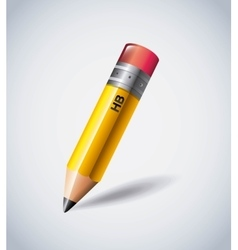 Pencil icon Instrument design graphic vector