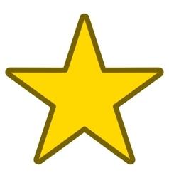 Star Toolbar Icon vector