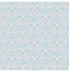 Seamless gray-blue vintage pastel pattern vector image