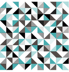 A green and black geometric background vector