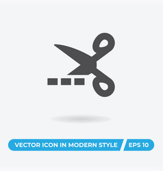 coupon icon simple car sign vector image