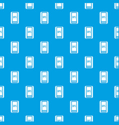 Global positioning system pattern seamless blue vector