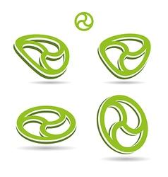 Green way design vector