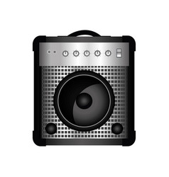 guitar amplifier icon vector image