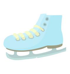ice skate icon cartoon style vector image