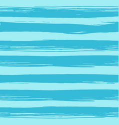 seamless pattern with hand drawn blue stripes vector image