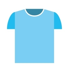 shirt clean isolated icon vector image