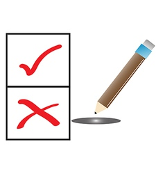 Elections to select the symbol vector image
