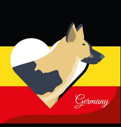 Germany design concept vector